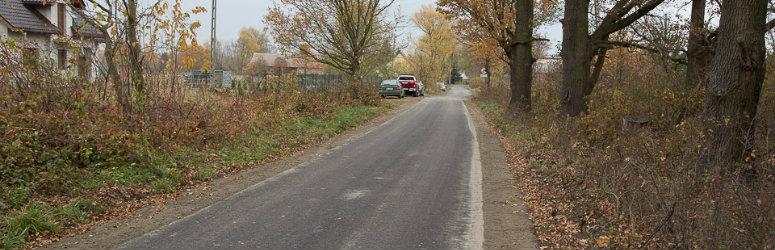 Gotowa droga w Grabownie Małym