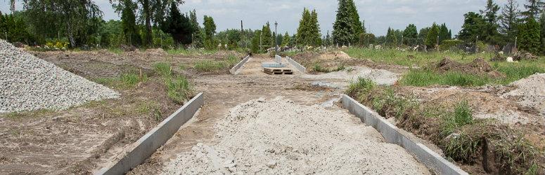 Powiększamy cmentarz komunalny