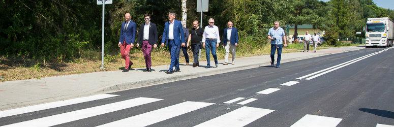 Zakończono remont drogi do Sosnówki