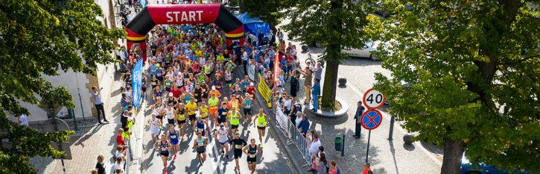 Bieg uliczny w Dniu Karpia 2020